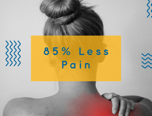 The Journey to Experiencing 85% Less Pain